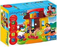 PLAYMOBIL (プレイモービル) Interactive Play and Learn 1.2.3 Farm(並行輸入品)