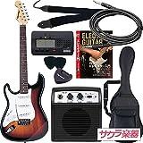 SELDER セルダー エレキギター ストラトキャスタータイプ サクラ楽器オリジナル ST-23LH/SB 初心者入門リミテッドセット レフティ 左利き用