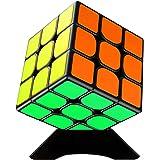 Diester スピードキューブ 競技用キューブ 立体パズル3x3x3 回転スムーズ 知育玩具 世界基準配色 初心者向け…