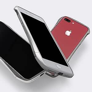 Deff ディーフ iPhone 8 plus / 7 plus 対応 Cleave Titanium Bumper Premium Edition for iPhone 7 Plus Titanium Silver