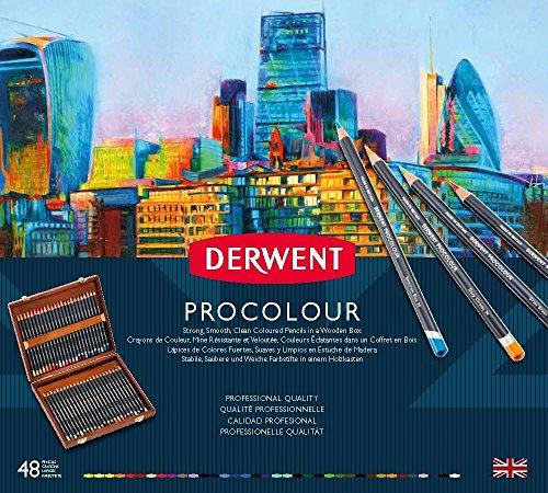 ダーウェント プロカラー色鉛筆 48色セット 木箱入