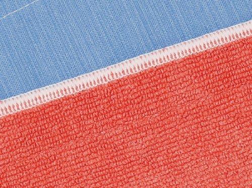 MQ Duotex ダブルクロス (編み素材/織素材) レッド/ブルー