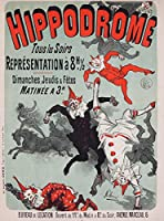 Hippodrome–表現A 8h 1–2ヴィンテージポスター(アーティスト: Cheret )フランスC。1885 36 x 54 Giclee Print LANT-58217-36x54