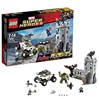 LEGO Marvel Super Heroes Avengers The Hydra Fortress Smash Set 76041