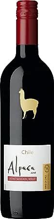 【熟したブラックチェリーカシスやプラムの果実味とまろやかなコク】サンタ・ヘレナ・アルパカ カベルネ・メルロー [ 赤ワイン ミディアムボディ チリ 750ml×12本 ]