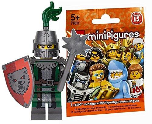 レゴ(LEGO) ミニフィギュア シリーズ15 こわがらせナイト(騎士) (未開封品)|LEGO Minifigures Series15 Frightening KNIGHT 【71011-3】
