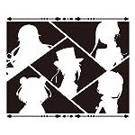 プリンセス・プリンシパル HD(1440×1280) シルエットのアンジェ,プリンセス,ドロシー,ベアトリス,ちせ