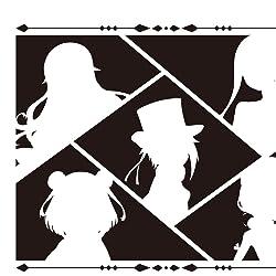 プリンセス・プリンシパルの人気壁紙画像 シルエットのアンジェ,プリンセス,ドロシー,ベアトリス,ちせ