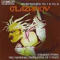 グラズノフ:交響曲第1番ホ長調「スラヴ」Op 5 交響曲第6番ハ短調 Op58 [Import]