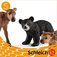 Schleich シュライヒ社フィギュア 41457 森の動物の赤ちゃん Forest Animal Babies