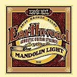 【正規品】 ERNIE BALL マンドリン弦 ブロンズ ライト (9-34) 2067 Earthwood 80/20 Bronze Mandlin Light