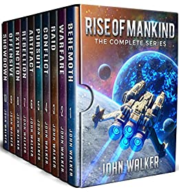 Rise Of Mankind:The Complete Series (Books 1-10) by [Walker, John]