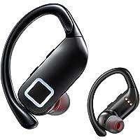 【2021革新版 Bluetooth5.2】 ワイヤレスイヤホン 耳掛け式 Bluetooth イヤホン スポーツ仕様…