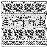 Stampendous クリスマスしがみつきなさいゴム製スタンプ セーター スクエア
