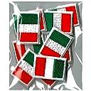 イタリア国旗 ワッペン ミニ SSS10枚セット
