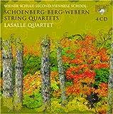 新ウィーン楽派の弦楽四重奏曲集(4枚組) 画像