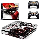 MightySticker? PS4 Designer Skin Game Console p 2 Controller Decal Vinyl Protective Covers Stickers f Sony PlayStation 4 - GOW God of War 3 Ascension Kratos Omega Ghost Sparta Warrior Olympus Saga by MightySticker? [並行輸入品]