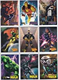 1998Marvel Creatorsコレクションmini-masterセット(ベース、ゴールド箔、editor 's Choice、Sketchboard) NM/M Marvel