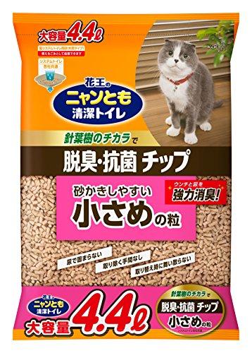 ニャンとも清潔トイレ 脱臭・抗菌チップ小さめ4.4L [猫砂]
