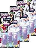【まとめ買い】ブルーレットデコラル トイレ便器の内側 香りと汚れ着付防止の花びらジェル スパアロマの香り 約30日分×3個