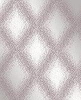 Decorline Peoria Diamond Weave壁紙 Purple 2735-23312 1