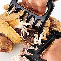 肉Claws (Set of 2)–Pulled Pork Bear Claw肉シュレッダーForks–安全にプル、Shred、Carve、豚肉、牛肉、Poultry持ち上げ、魚
