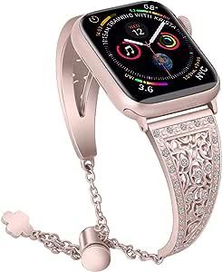 互換 アップルウォッチ バンド Apple iwatch バンド 38MM/40MM/42MM/44MM 1、2、3、4、5世代対応 金属珠宝 互換 Apple watch バンド