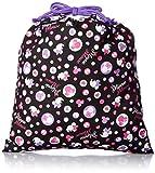[ディズニーバッグ] DISNEY BAG Minnie Mouse ミニーマウス 巾着(大) D1362 黒 (クロ)