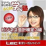 らくらく合格 ビジネス会計検定 3級(DVD講座)