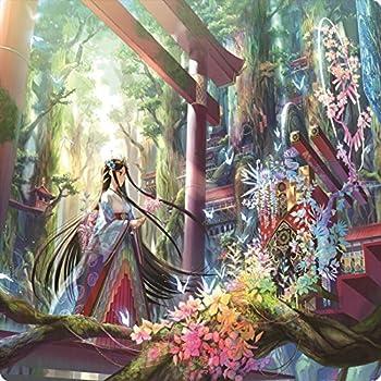 おもちゃの神様 オリジナル ラバープレイマット VSプレイマット Vol.1 「森の彩壇」【illust:藤ちょこ】60×60cmサイズ 厚さ 2mm の特大サイズ! これ1枚で二つのデュエルフィールドを用意! あらゆるカードゲームに利用できる、汎用性の高いプレイマットがついに登場! 遊戯王 ARC-V デュエマ DM MTG、ヴァイスシュバルツ ヴァンガード バディファイト など