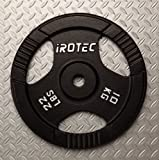 IROTEC(アイロテック) アイアンプレート 10KG / ダンベル バーベル兼用プレート 画像