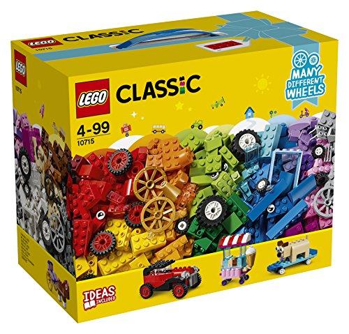 [해외]레고 (LEGO) 클래식 아이디어 부품 <타이어 세트> 10715/Lego (LEGO) Classic Idea Parts <Tire Set> 10715