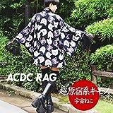 (エーシーディーシーラグ) ACDC RAG CATキモノ 羽織り 猫 ねこ 原宿系
