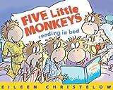Five Little Monkeys Reading in Bed (A Five Little Monkeys Story) (English Edition)