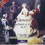 アルビノーニ「3声のバッレット集 Op.3」(全12曲) [Import]