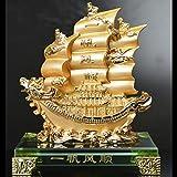 【送料無料】≪高級≫風水の龍神宝船 【福を招く黄金の寶船】◆金運・財運・福を呼ぶ大変縁起の良い宝船です♪