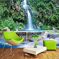 Lixiaoer カスタマイズされたHd 3Dステレオ中国風の滝の森自然風景壁画壁紙リビングルームの寝室の古典的な装飾壁画-280X200Cm