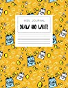 Kids Journal Draw and Write: Cute Notebook With Cawaii Chips, Orange (Handwriting Notebook)