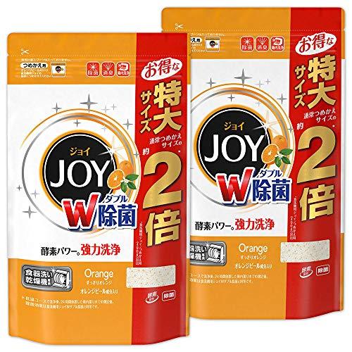 【まとめ買い】 食洗機用 ジョイ 食洗機用洗剤 オレンジピール成分入り 詰め替え 特大 930g×2個