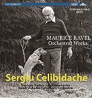 SSS0169/0170 セルジュ・チェリビダッケ指揮スウェーデン放送響 モーリス・ラヴェル:管弦楽名演集