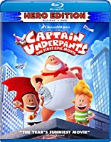 Captain Underpants: the First Epic Movie [Blu-ray] [Import]
