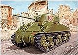 ドラゴン 1/72 第二次世界大戦 イギリス軍 M4A4 シャーマン ロイヤル・ハッサーズ プラモデル DR7572