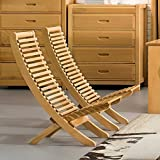 ZEMIN ダイニングチェア椅子の木の木製折り畳み 長椅子長椅子ソファーシートスツールテーブル背もた