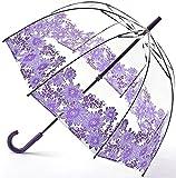 フルトン FULTON バードケージ Purple Gerbe ガーベラ ビニール傘 正規品証明タグ fultonl042purplegerbera