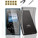 BestforYou Sony Walkman NW-A100 A105 A106 Case,Soft Clear TPU Protective Skin Case Cover for Sony Walkman NW-A100 A105 A105HN
