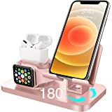 BENTOBEN 3 in 1 Charging Stand for Apple Watch (5/4/3/2/1), Airpods Pro 2019/2/1, iPad Stand, iPhone Stand(11/XS MAX/XR/XS/8/