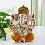 BangBangDa Hindu God Statue Fengshui Ganesh Figurine India Buddha Elephant Lord Ganesha Sculpture Yoga Meditation Wedding Gif