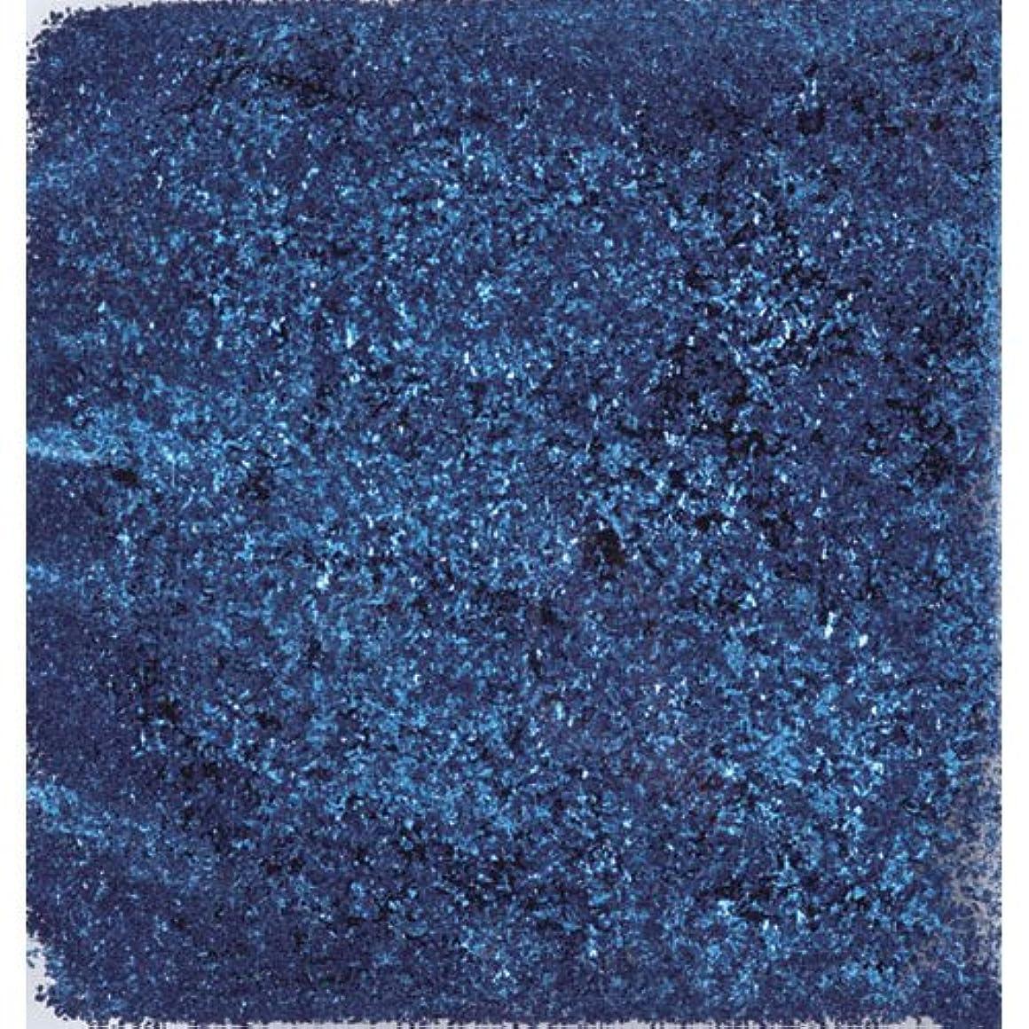 つまらない一生サーキュレーションピカエース ネイル用パウダー ピカエース シャインフレーク #713 藍色 0.3g アート材