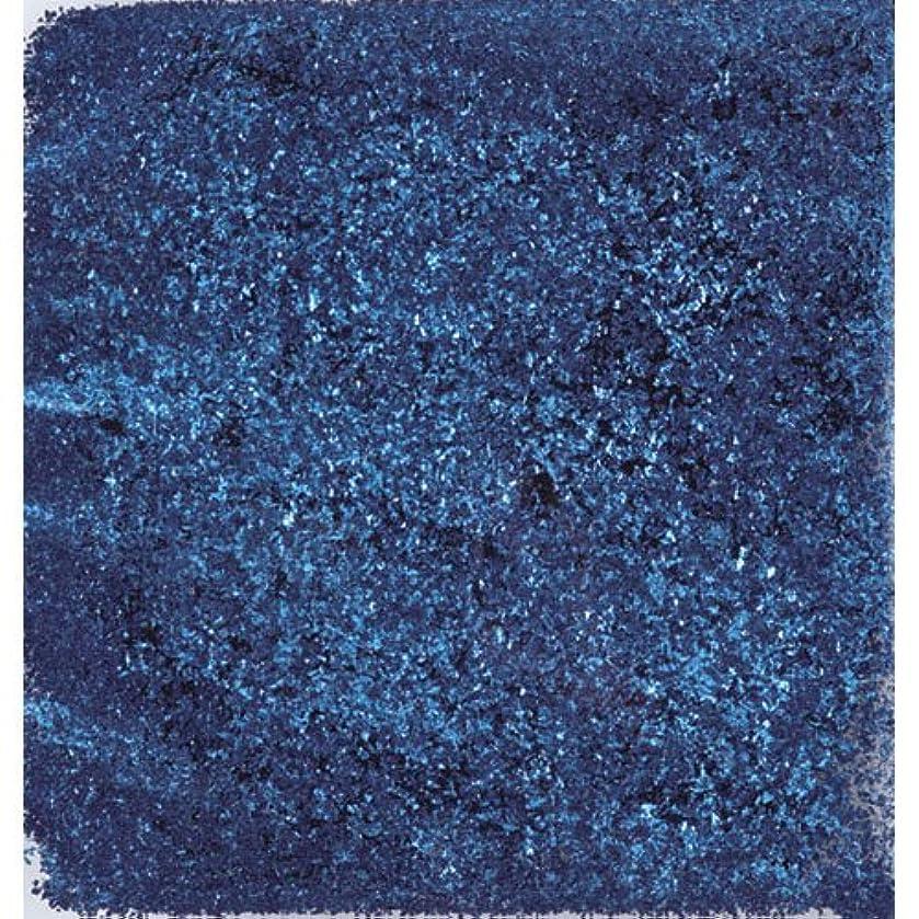 シマウマ読者ロバピカエース ネイル用パウダー ピカエース シャインフレーク #713 藍色 0.3g アート材