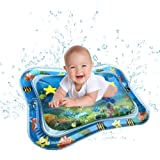Kids Inflatable Tummy Time Premium Water mat Infants & Toddlers is The Perfect Fun time Play Activity Center Your Baby's Stim